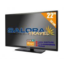 """Salora 22"""" Travel TV CI DVB-S2/C/T2 12/230V"""